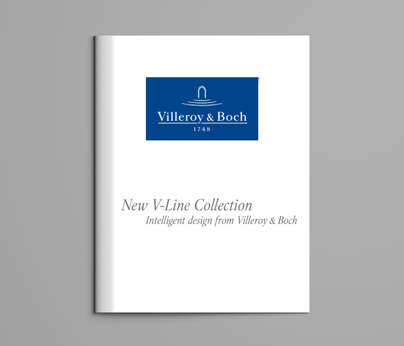 New V-Line Collection by Villeroy & Boch