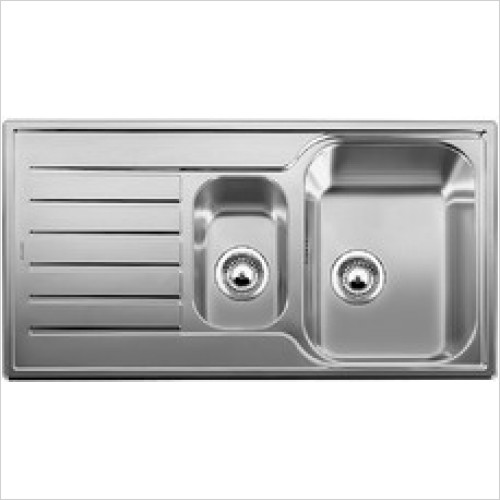 Blanco Sinks - Lantos 6 S 1.5 Bowl Sink, Universal