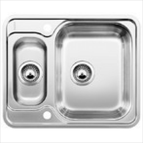 Blanco Sinks - Lantos 6-IF 1.5 Bowl Sink, Universal