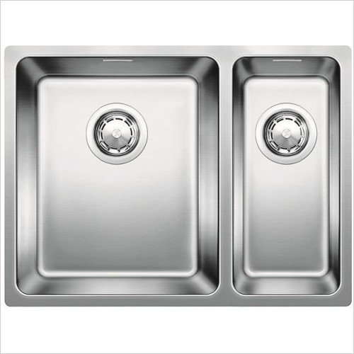 Blanco Sinks - Andano 340/180-IF 1.5 Bowl Sink, LH Bowl