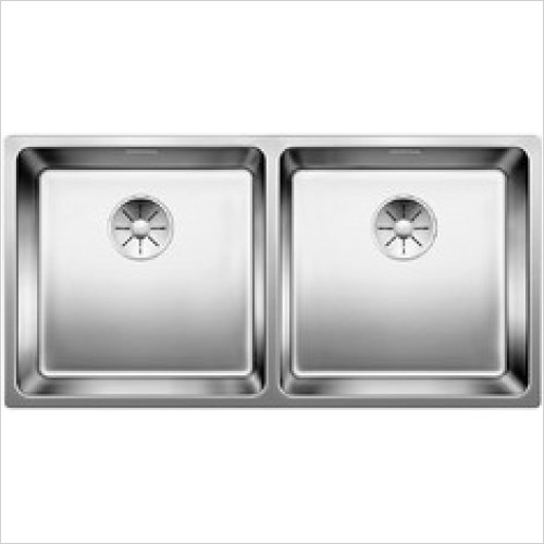 Blanco Sinks - Andano 400/400-IF 2 Bowl Sink, Universal