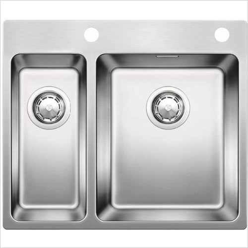 Blanco Sinks - Andano 340/180-IF/A 1.5 Bowl Sink, RH Bowl