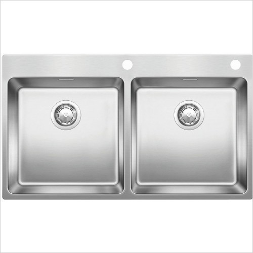 Blanco Sinks - Andano 400/400-IF/A 2 Bowl Sink, Universal