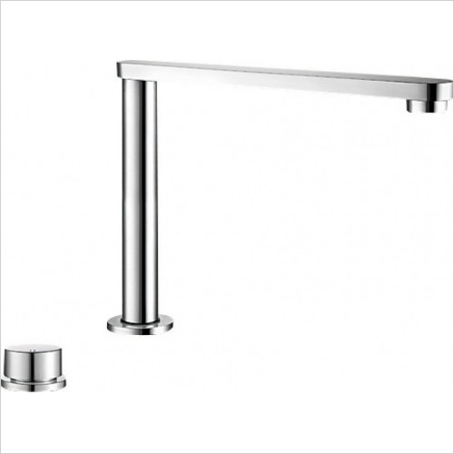 Blanco Taps - Eloscope-F II Monobloc Mixer Tap With Rise & Fall Spout