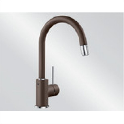 Blanco Taps - Mida-S Single Side Lever Monobloc Mixer Tap