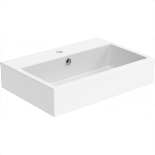 Saneux Basin - Matteo Washbasin 500 x 370mm 1TH