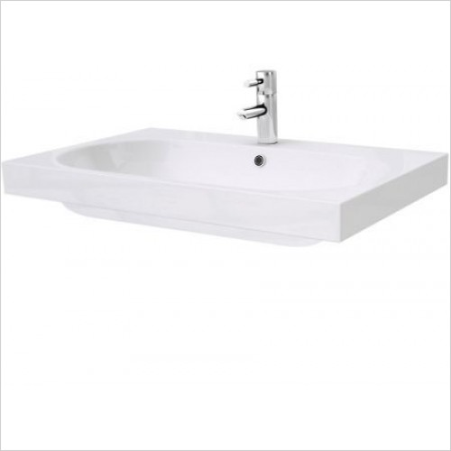Saneux Basin - Austen 715 x 455mm Washbasin 1TH