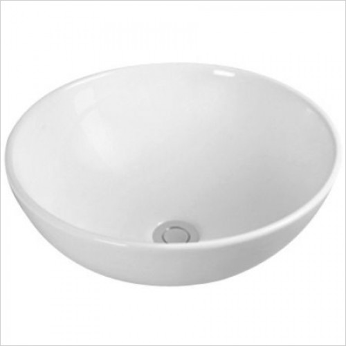 Saneux Basin - Austen 320mm Round Sit On Bowl