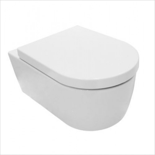 Saneux Toilet - Austen Slim Wall-Mounted WC Pan