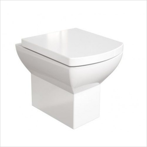 Saneux Toilet - I-Line II Back To Wall Pan
