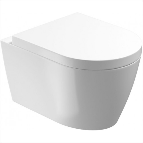 Saneux Toilet - Uni Wall Hung Pan - Rimless
