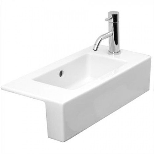Saneux Basin - Uni Semi-Recessed Washbasin 0TH