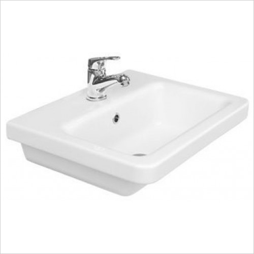 Saneux Basin - Indigo 500mm Washbasin 1TH