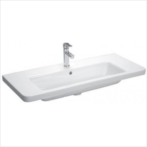 Saneux Basin - Indigo 1000mm Washbasin 1TH