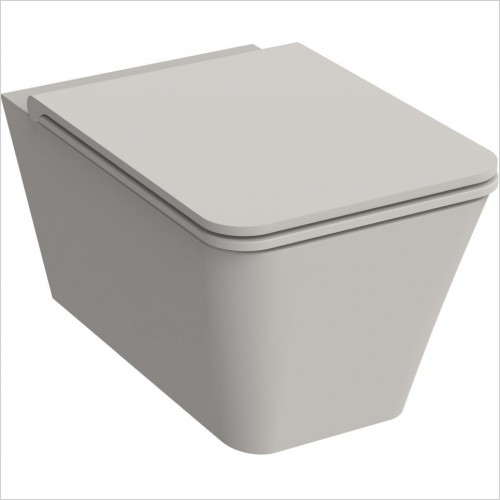 Saneux Toilet - Icon Square Wall Hung Pan
