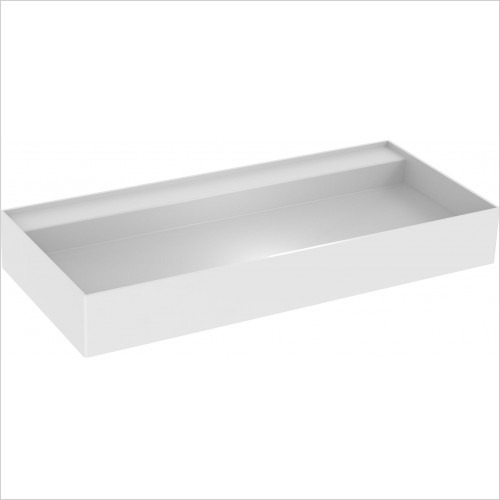 Saneux Basin - Icon 100 x 45cm Vessel Basin 0TH Sit On Only