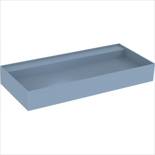 Saneux Basin - Icon 100 x 45cm Vessel Basin 0TH - Sit On Only