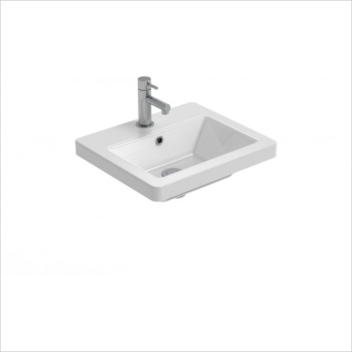 Saneux Basin - Air 40cm Washbasin 1TH