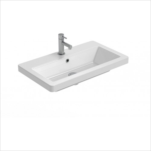 Saneux Basin - Air 600 x 350mm Washbasin 1TH