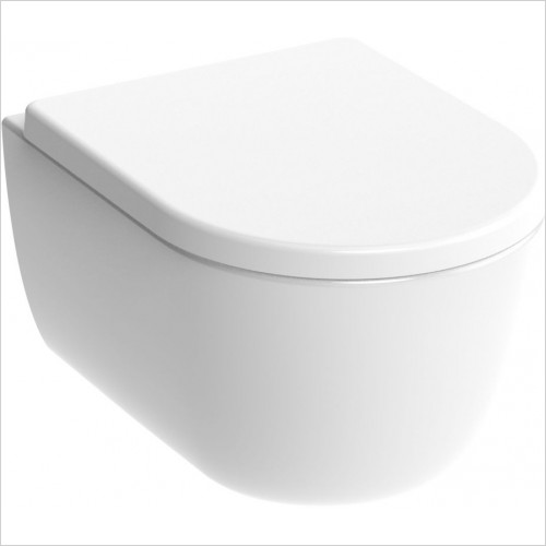 Saneux Toilet - Austen Wall Mounted WC Pan Rimless
