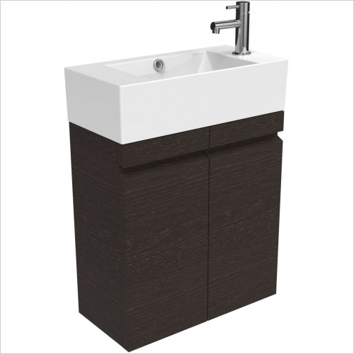 Saneux Furniture - Matteo 51cm Cloakroom Unit
