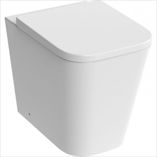 Saneux Toilet - Matteo Back To Wall WC Pan Rimless