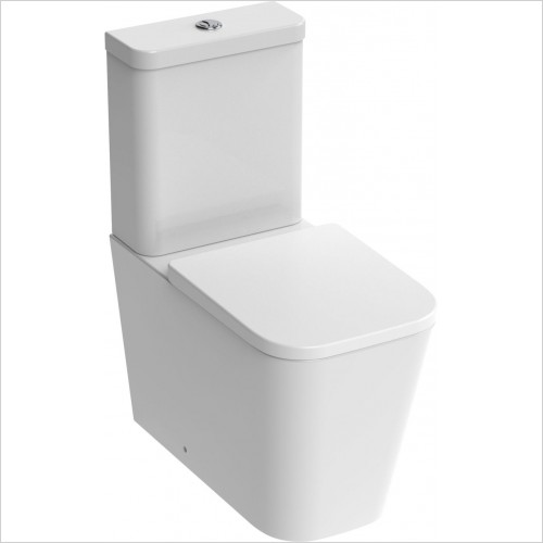 Saneux Toilet - Matteo Close Coupled WC Pan Rimless