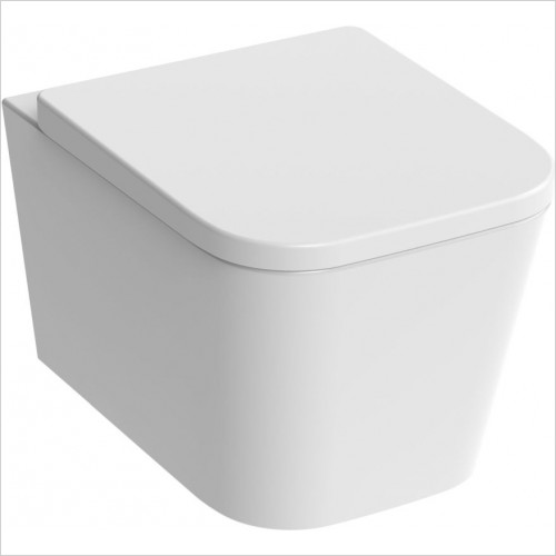 Saneux Toilet - Matteo Wall Hung WC Pan Rimless