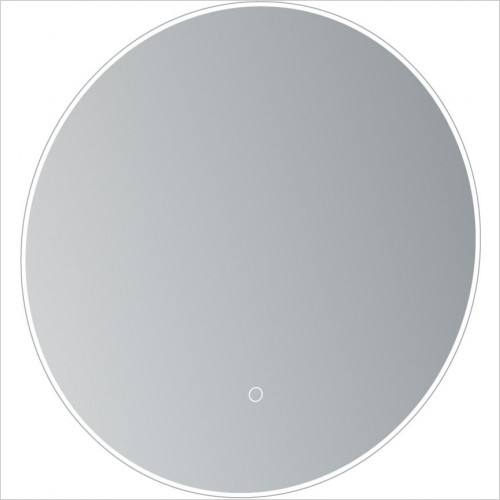 Saneux Mirrors - Oska Ø500mm Round Illuminated Mirror