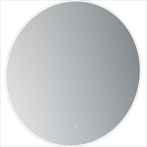 Saneux Mirrors - Oska Ø800mm Round Illuminated Mirror
