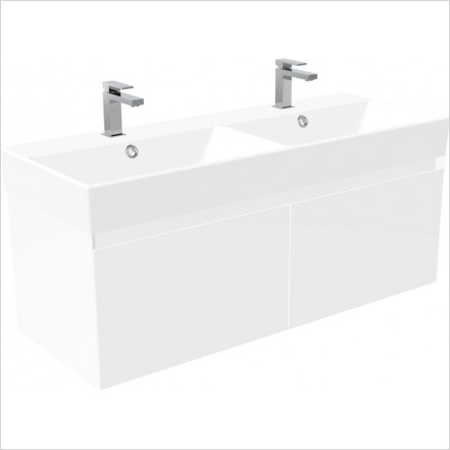 Saneux Furniture - Quadro 120cm Wall Mounted Unit
