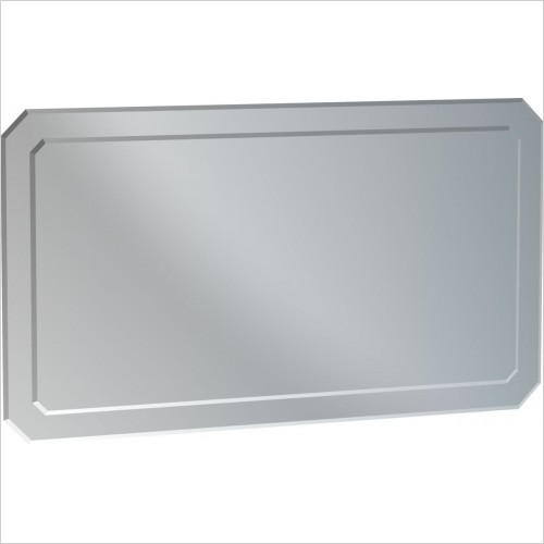 Saneux Mirrors - Regency 90cm Double Layered Bevelled Mirror