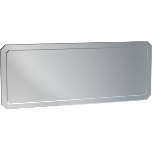 Saneux Mirrors - Regency 130cm Double Layered Bevelled Mirror