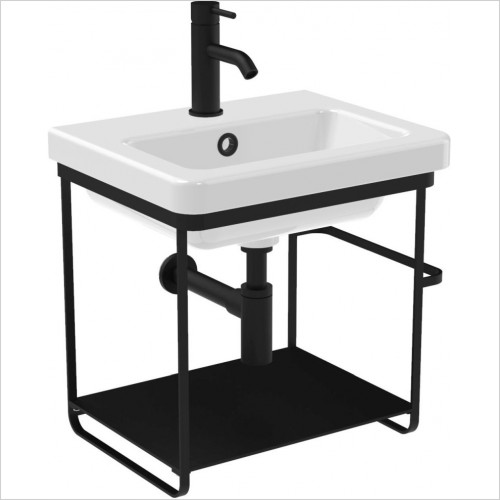 Saneux Furniture - Volato 46.5 x 50cm Wall Mounted Washstand