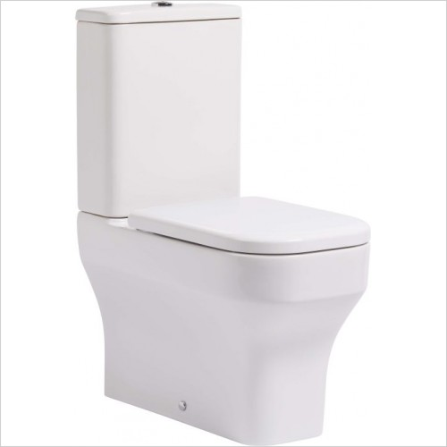 Roper Rhodes toilets - Accent Close Coupled Fully Back To Wall Pan 630mm