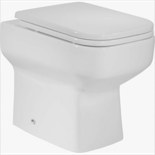 Roper Rhodes toilets - Geo 505mm Back To Wall WC Pan