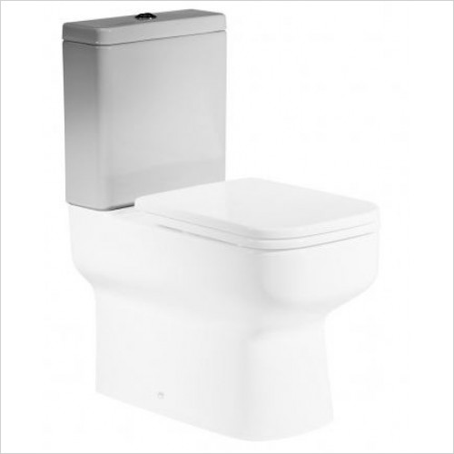 Roper Rhodes toilets - Geo Close Coupled WC Pan
