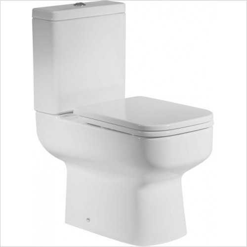 Roper Rhodes toilets - Geo Close Coupled Open Back Pan - 645mm