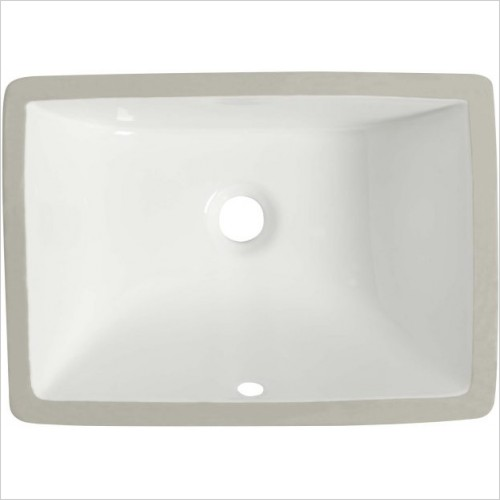 Roper Rhodes Washbasins - Hampton 600mm Underslung Rectangular Basin