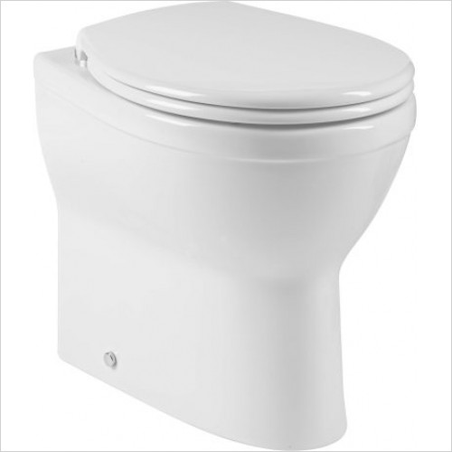 Roper Rhodes toilets - Minerva Comfort Height Back To Wall WC Pan