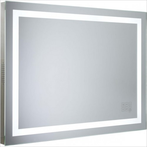 Roper Rhodes Mirrors - Beat Bluetooth Mirror 800 x 600 x 50mm