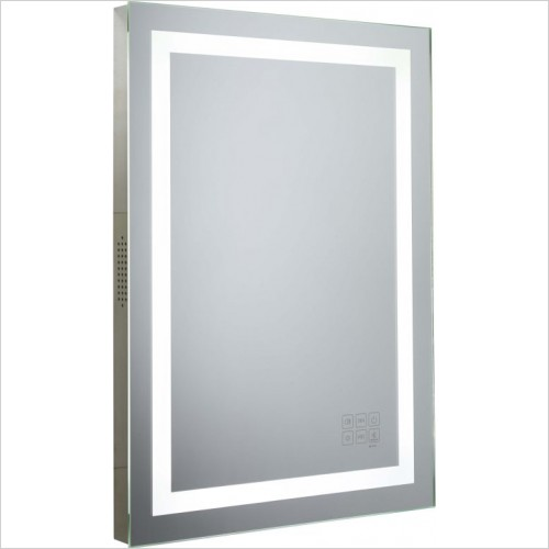 Roper Rhodes Mirrors - Beat Bluetooth Mirror 500 x 700 x 50mm