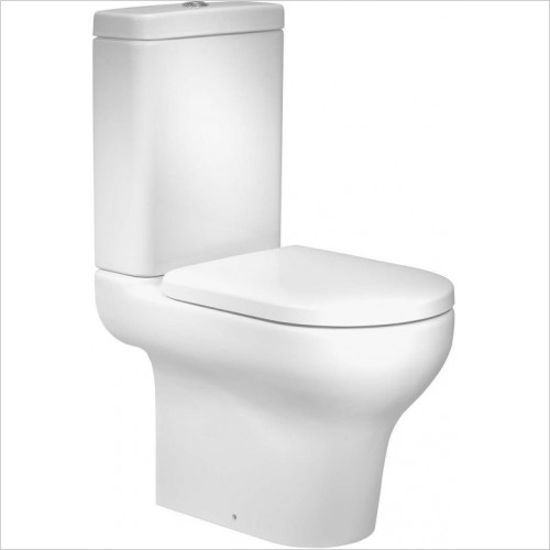Roper Rhodes toilets - Note Close Coupled Open Back Pan - 620mm