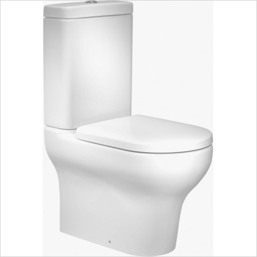 Roper Rhodes toilets - Note Close Coupled Cistern