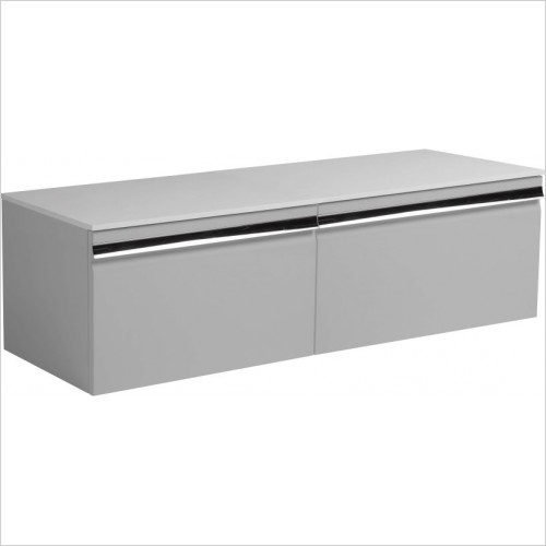 Roper Rhodes Furniture - 2 x Pursuit 600mm Wall Mounted Single Drawer Unit