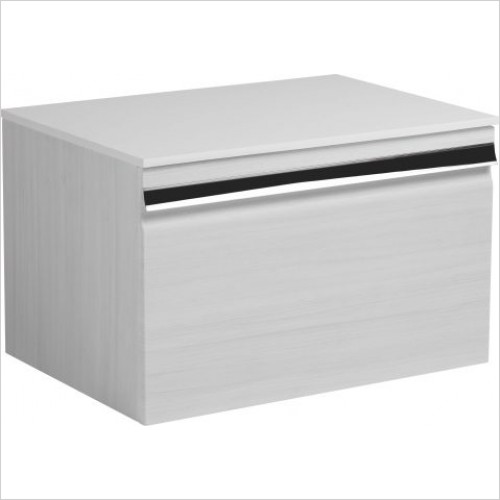 Roper Rhodes Furniture - Pursuit 600mm Wall Mounted Single Drawer Unit