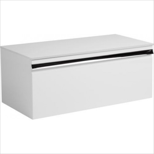Roper Rhodes Furniture - Pursuit 900mm Wall Mounted Single Drawer Unit