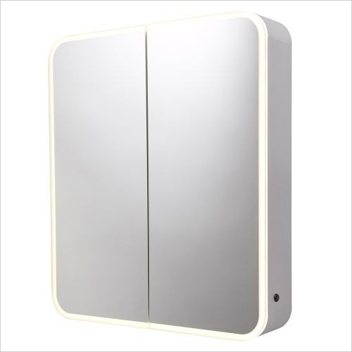 Roper Rhodes Mirror Cabinets - System Cabinet With Demister & Shaver Usb 700x1000mm
