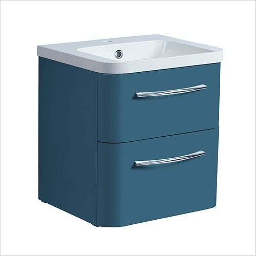 Roper Rhodes Furniture - System 500mm Wall Mounted Double Drawer Basin Unit