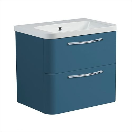 Roper Rhodes Furniture - System 600mm Wall Mounted Double Drawer Basin Unit